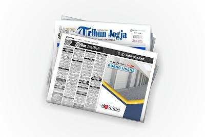 pasang iklan ruang usaha di koran tribun jogja