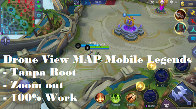 [TERBARU] Drone View MAP Mobile Legends tanpa Root
