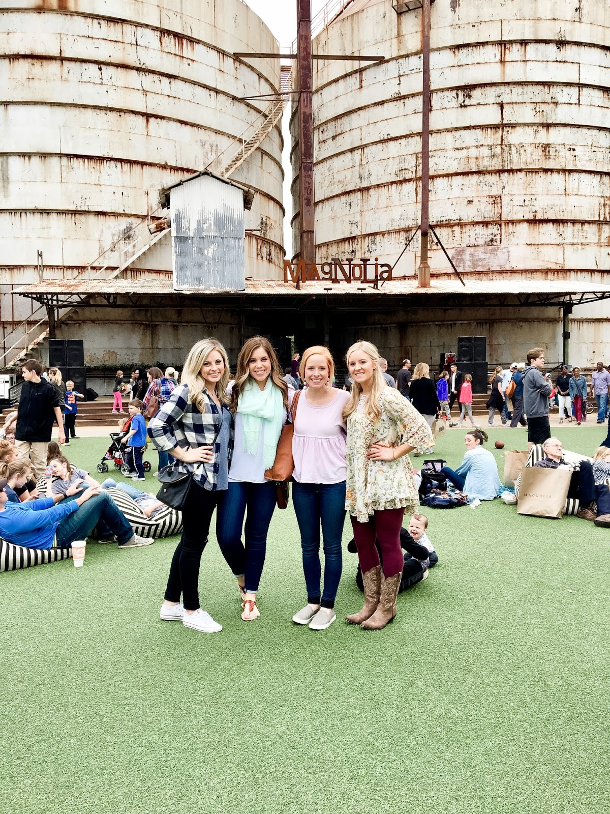 Friends at the Silos