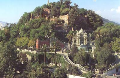 Cerro Santa Lucia (Santa Lucia Hill, Santiago, Chile)