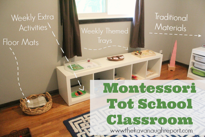tot school, montessori at home, pink tower
