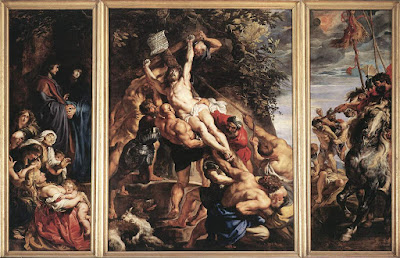 Elevation of the Cross by P.P. Rubens