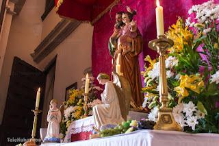 Mesa de la Iglesia Corpus Christi Naharros 2016