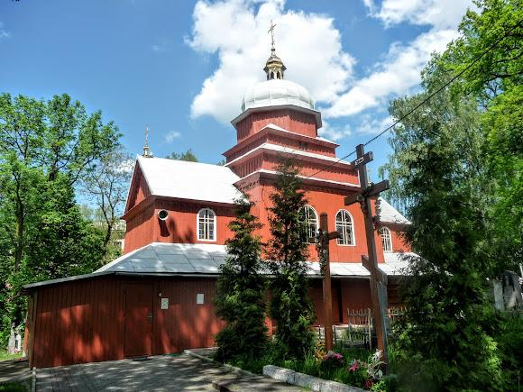 Дрогобич. Церква святої Параскеви. УАПЦ. 1815 р.
