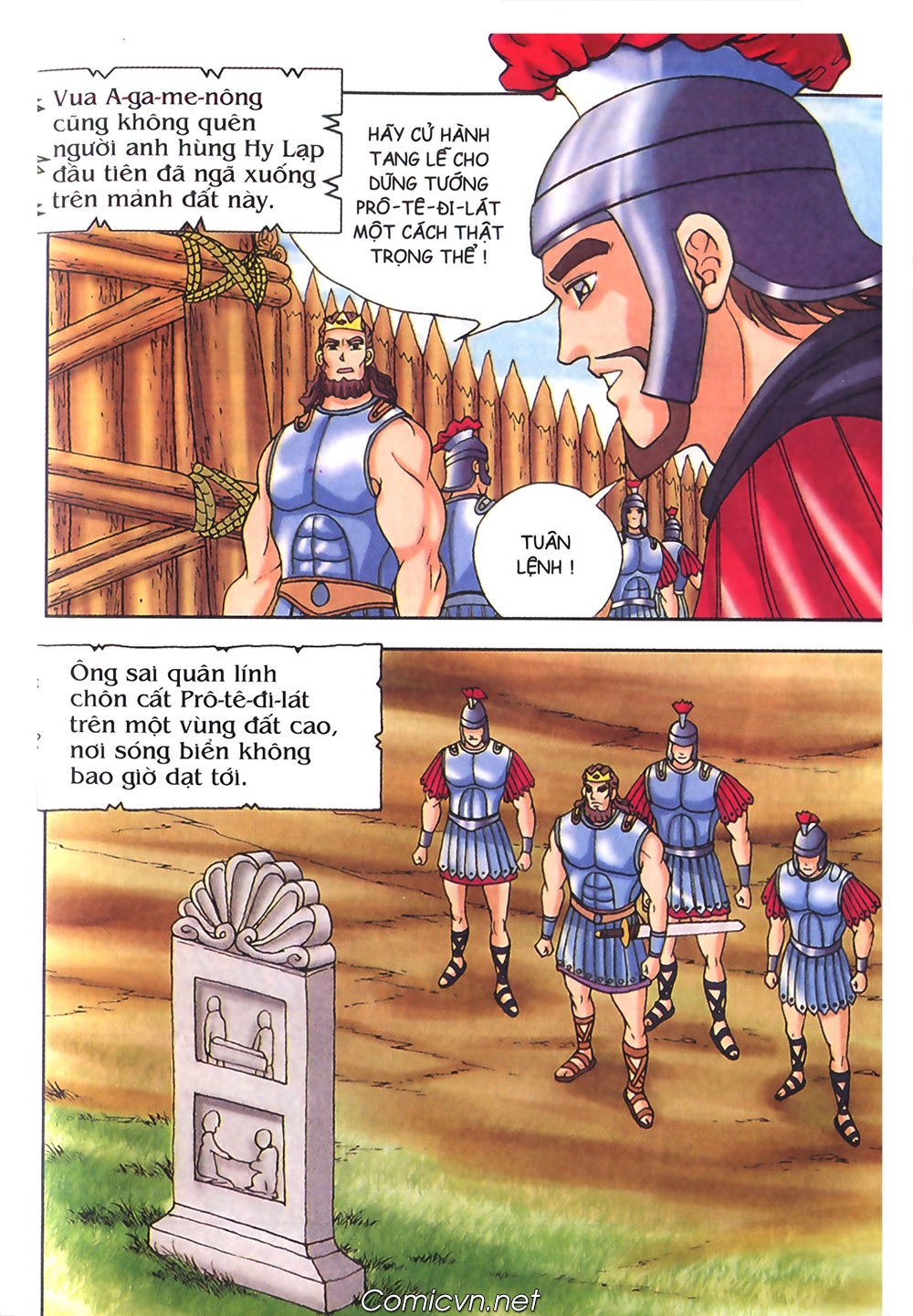 Thần Thoại Hy Lạp Màu - Chapter 55: Trận chiến đầu tiên - Pic 37