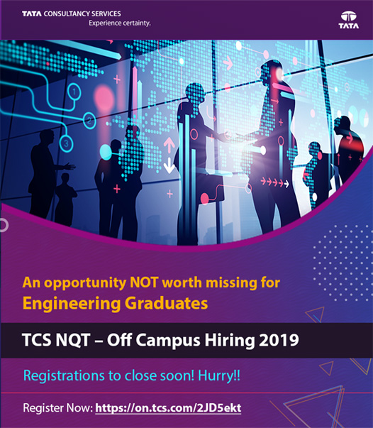 Tcs off campus drive 2019 results