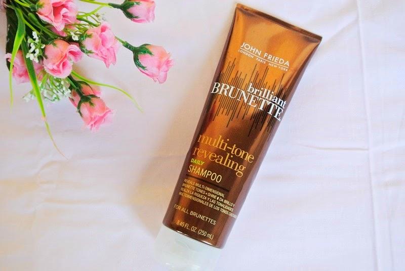 Testei: Shampoo John Frieda Brilliant Brunette.
