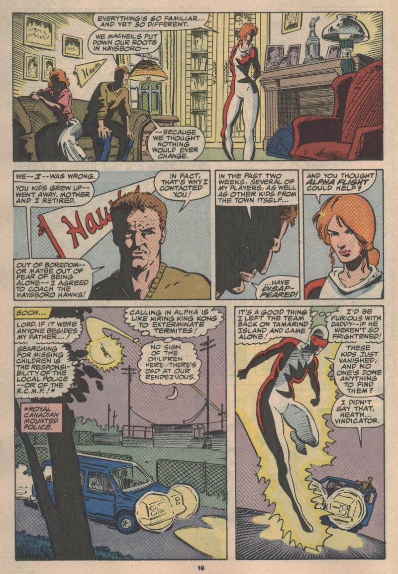 Read online Alpha Flight (1983) comic -  Issue #47 - 11