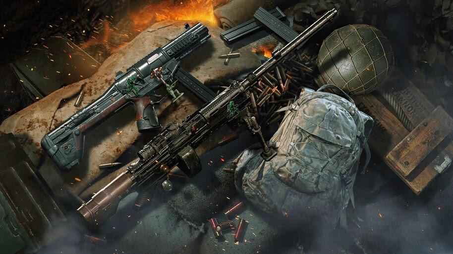 Call of Duty Mobile, Gunsmith, 4K, #3.2547