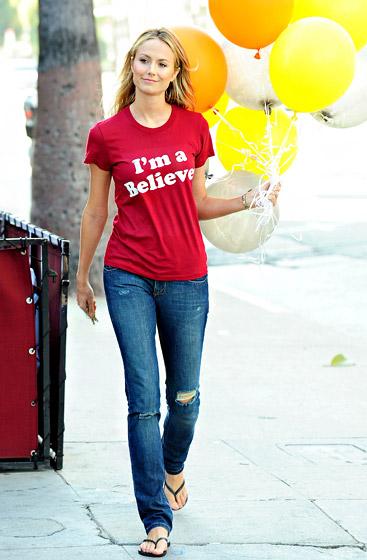 Dr Know It All Celebrity Sighting Stacy Kiebler wearing