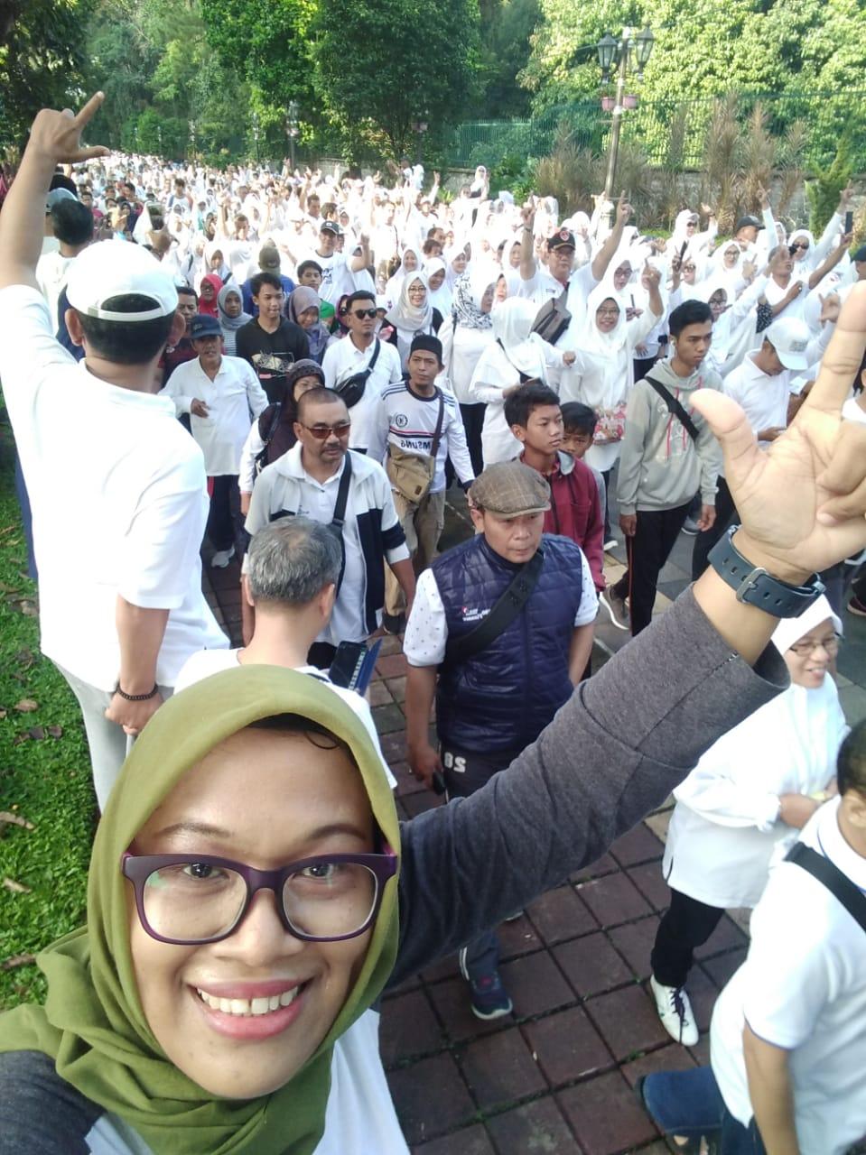 15 Ribu Massa, Ini Fakta Mengagumkan Temu Relawan Prabowo-Sandi