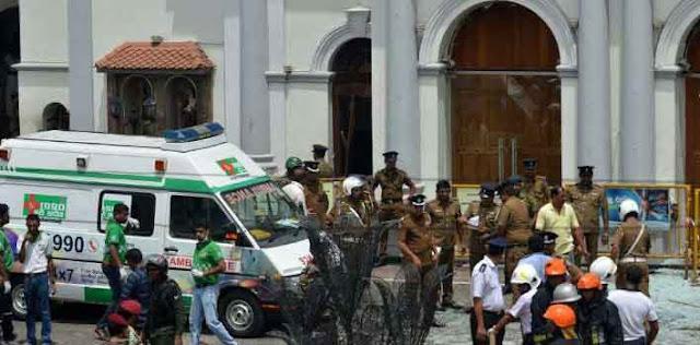 श्रीलंका में हुए बम धमाकों में मरने वालों की संख्या 200 हुई