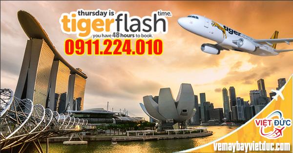 Bán vé máy bay đi Singapore từ Sài Gòn giá chỉ từ 47 USD