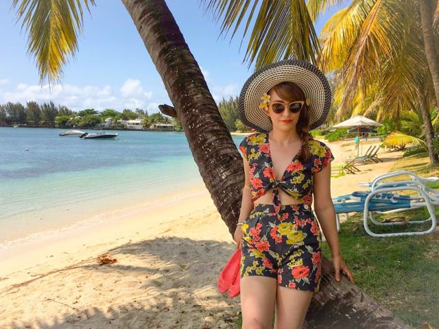 CiCi Marie in Mauritius