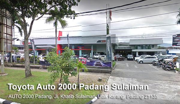 Toyota Khatib Sulaiman Padang