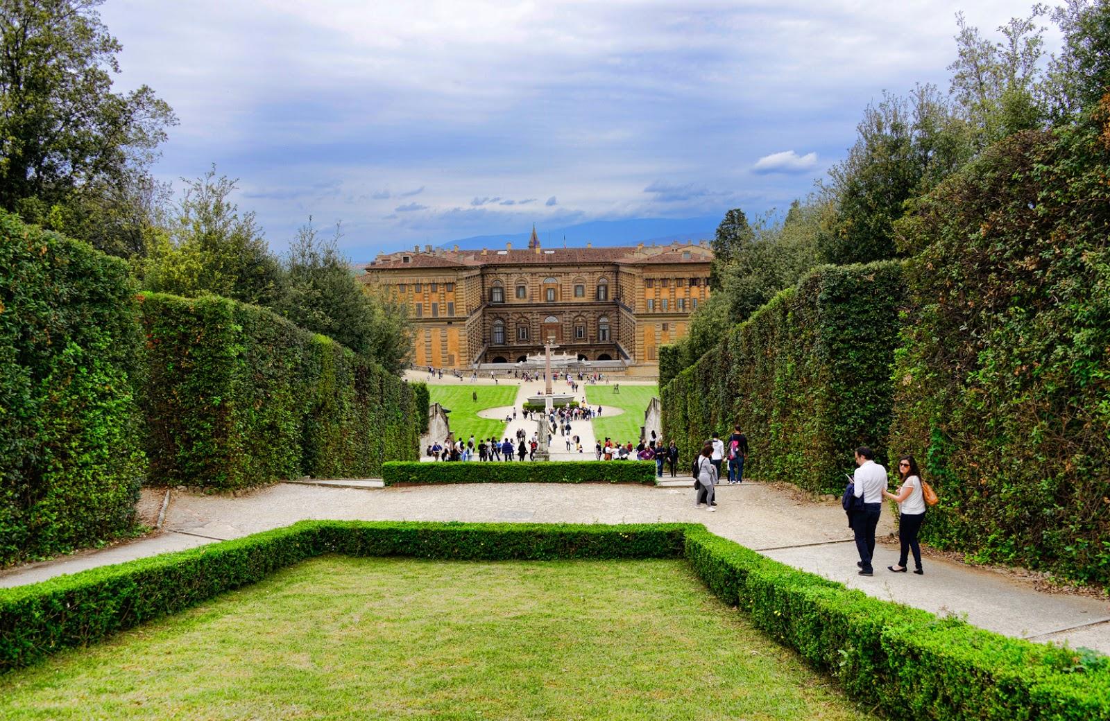 Giardino di Boboli e Palazzo Pitti. Foto di Marco Giorgi