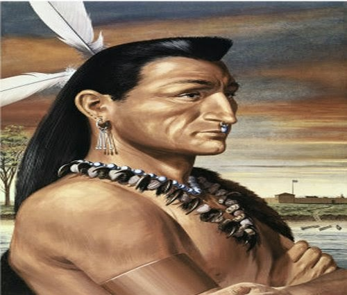 Painting FIW Ottawa Indians picture 1