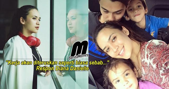 Kenapa Diana Danielle Tetap Bekerja, Walaupun Farid Kamil Baru Dibebaskan? Ini Jawapannya