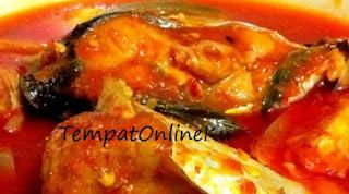 asam pedas ikan kuwe mantap lezat