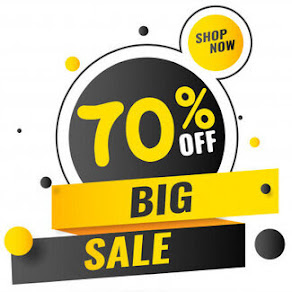 Amazon Clearance Sale up to Flat 70% Off on All products.