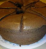 Carol 自在生活 : 巧克力戚風蛋糕