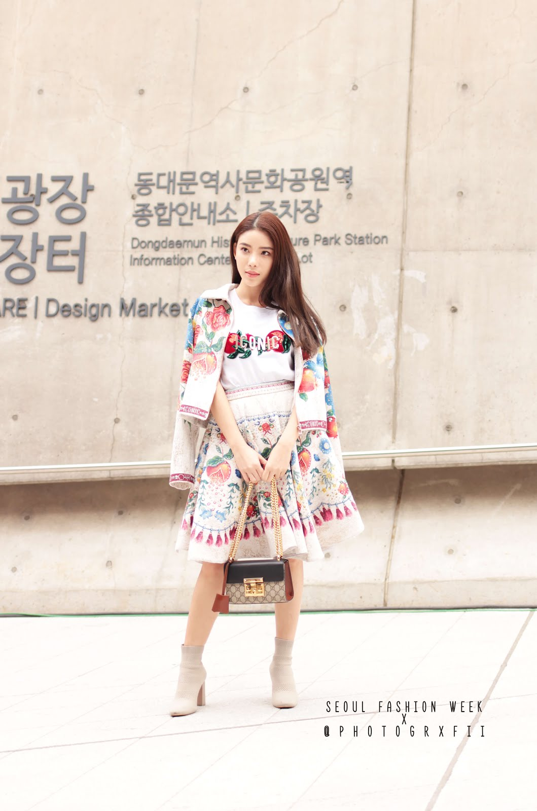 seoul fashion week ss18 three piece outfit womenswear