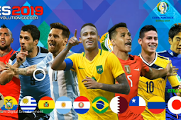 PATCH OF PES MOBILE COPA AMERICA V3.3.1 BY STRANGER SHAFIUL