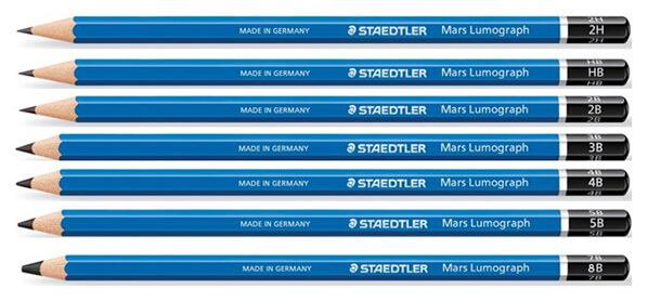 Staedtler Pensil Terbaik Untuk Anak mars lumograph