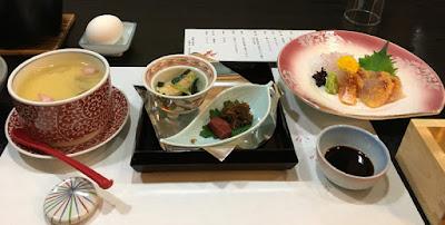 須賀谷温泉の郷土料理コース