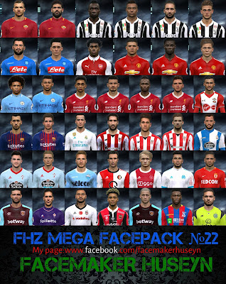 PES 2017 FHZ Big Facepack №22 by Facemaker Huseyn