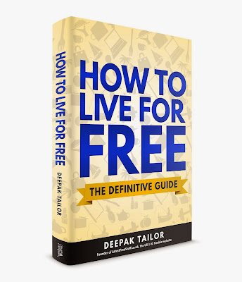 How to Live for Free by Deepak Tailor book cover