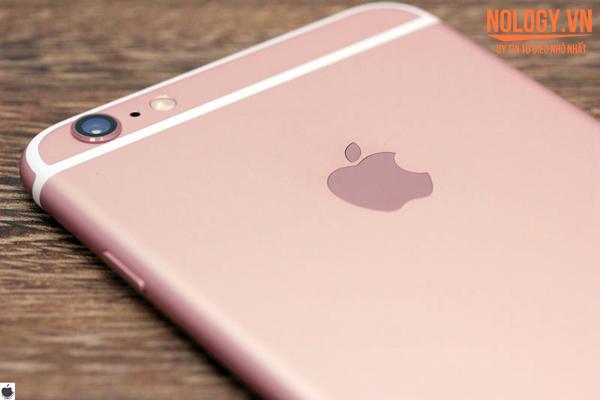 Mặt sau của iphone 6s rose