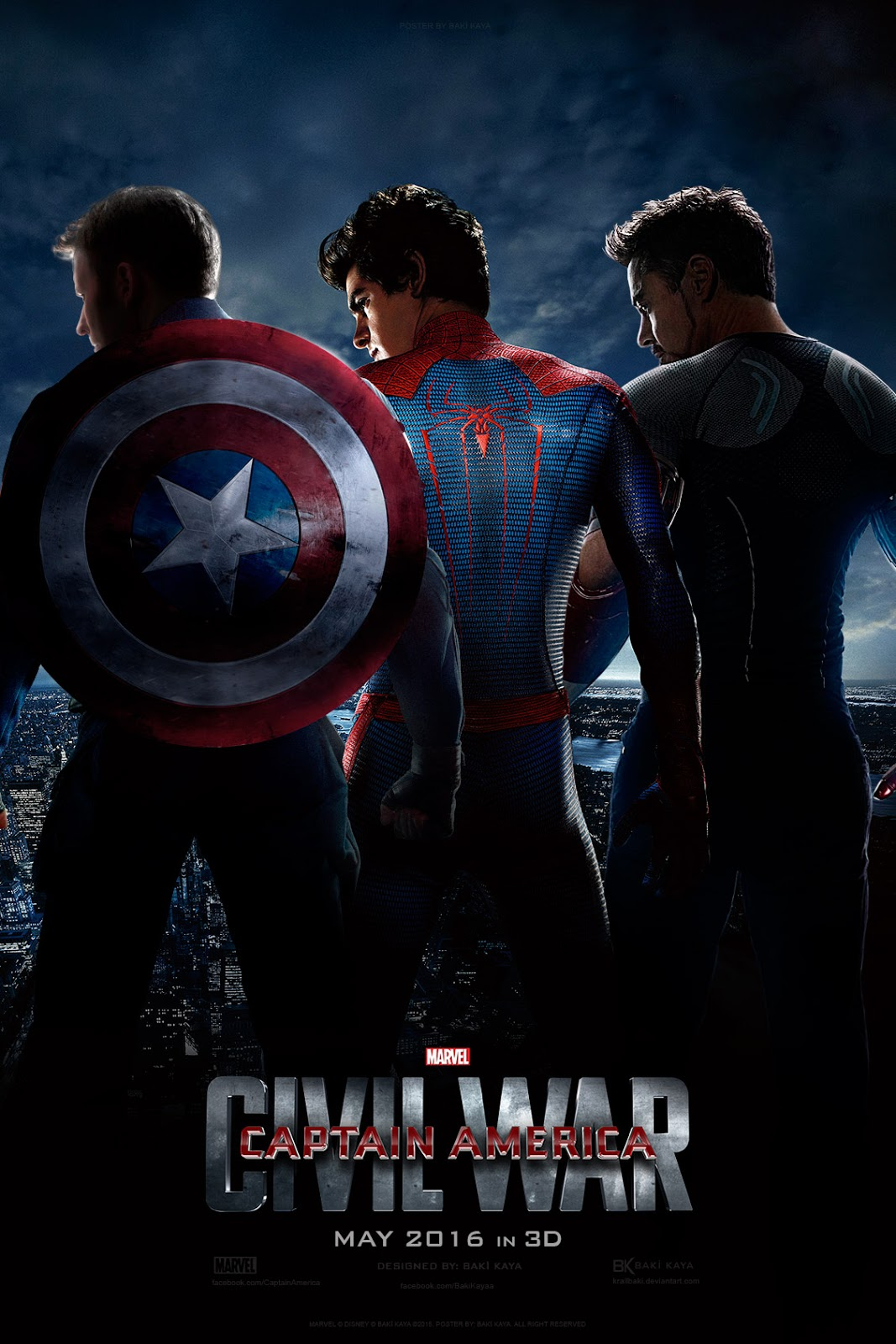 To Know More About Captain America Civil War 2016 And Its Cast