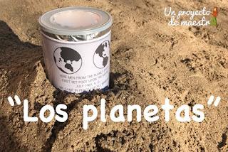 Proyecto educativo sobre los planetas en Educación Infantil.