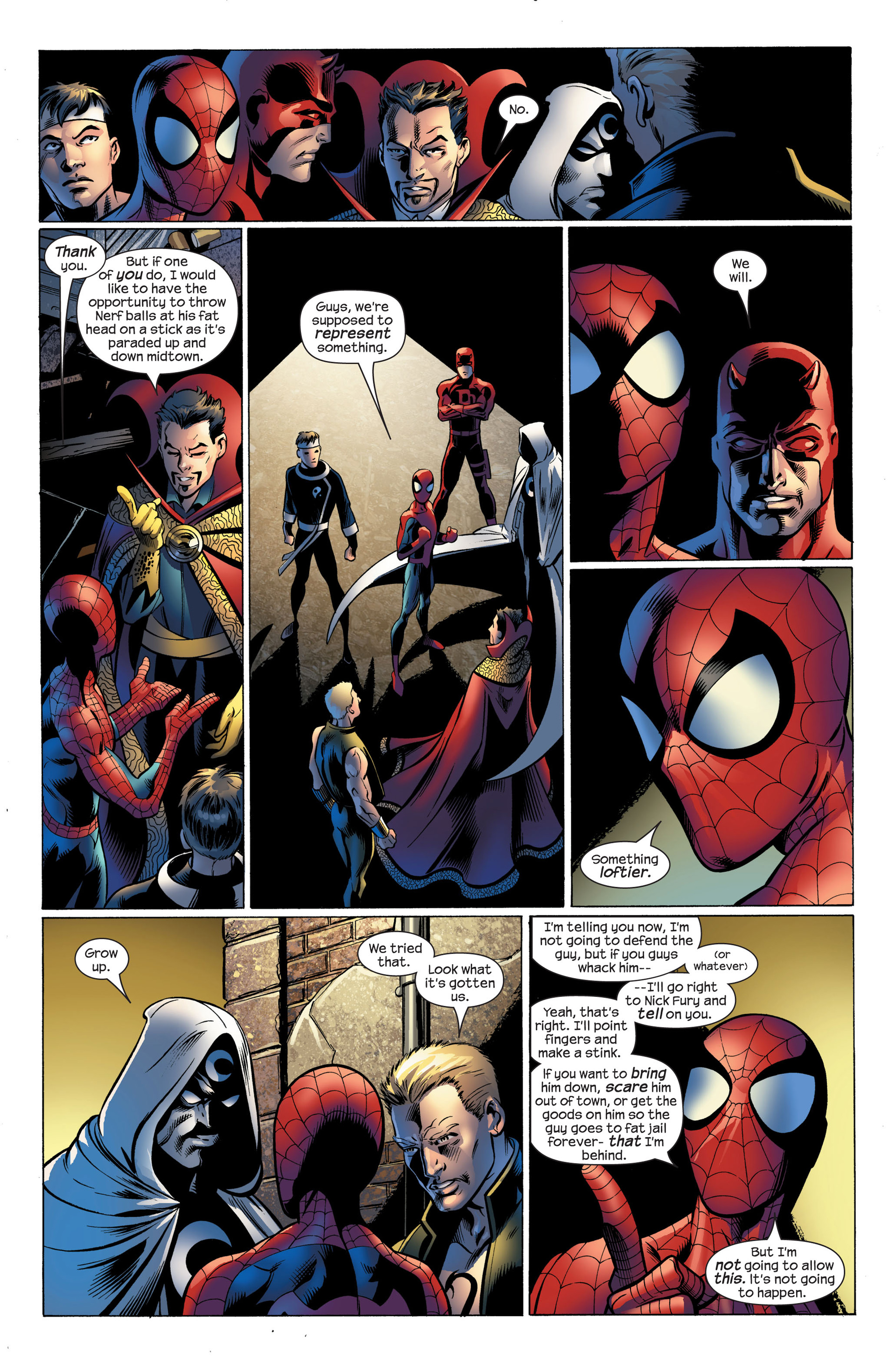 Read online Ultimate Spider-Man (2000) comic -  Issue #107 - 16