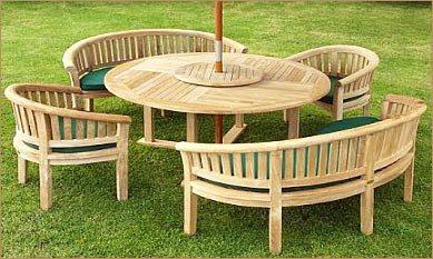 meja makan taman terbaru