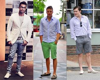 calças e bermudas