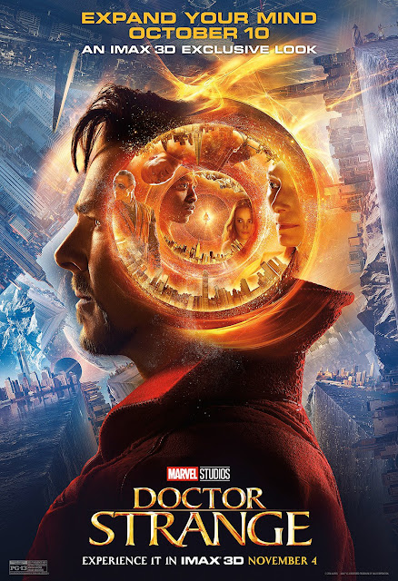 Marvel's Doctor Strange IMAX Theatrical One Sheet Movie Poster
