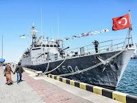 Jalin Kerjasama, Kapal Perang Turki Berlabuh Dua Hari di Ukraina