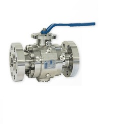 stainless steel trunnion mount ball valve flange connections