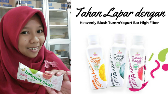 Tahan Lapar dengan Heavenly Blush TummYogurt Bar High Fiber