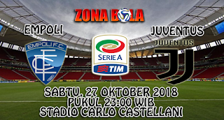 Prediksi Bola Empoli vs Juventus 27 Oktober 2018