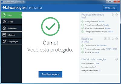 MALWAREBYTES PREMIUM 3.0 + ATIVADOR