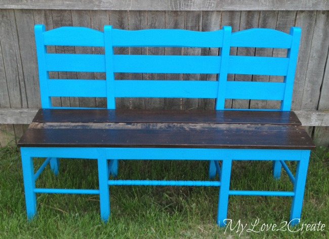 MyLove2Create, Old Chairs into New Bench