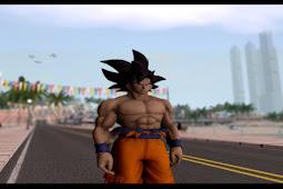 Goku Ultra Insting Mod GTA SA