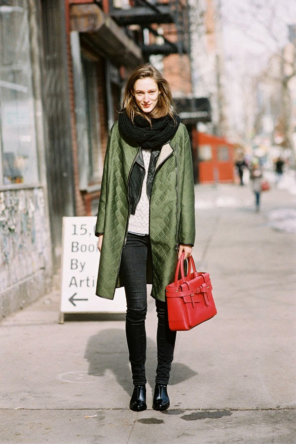 Vanessa Jackman New York Fashion Week Aw 2014 Franzi