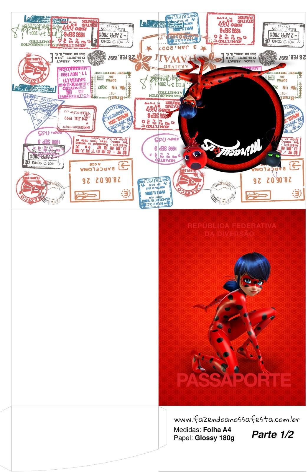 Miraculous Ladybug Free Party Printables