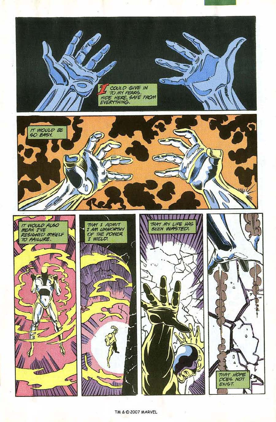 Read online Silver Surfer (1987) comic -  Issue #58 - 5