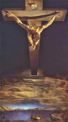 """""""Cristo de San Juan de la Cruz"""" - Salvador Dalí, 1951"""