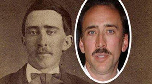 Nicolas Cage and the man from Tennessee who took part in the Civil War